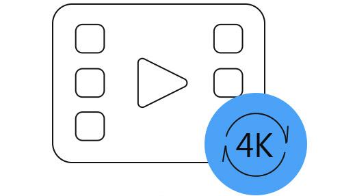 4Kを変換